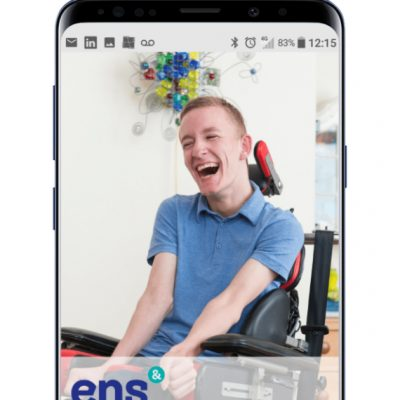 Download the new ENS app for a chance to win Amazon vouchers
