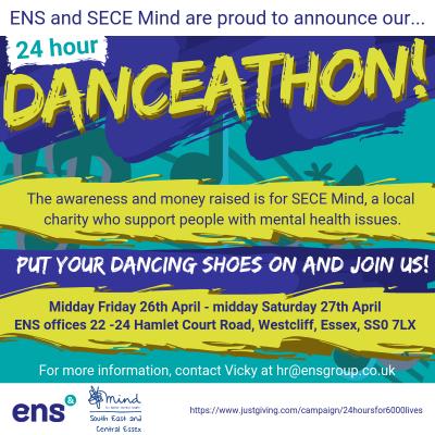 ENS' Epic 24 hour DANCEATHON for mental health awareness