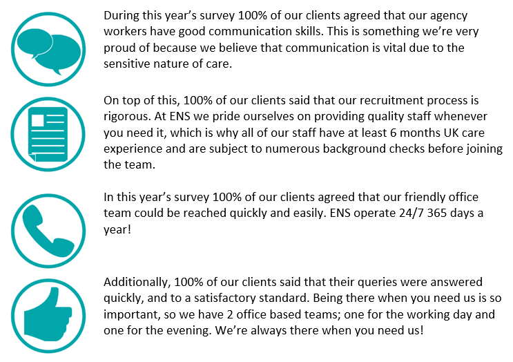 client feedback recruitment table