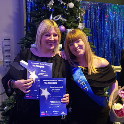 ENS wins big at the Essex Care Sector Awards!